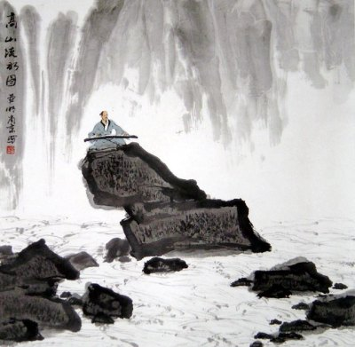 高山流水(High Mountain and Running River, Gao Shan Liu Shui, Guzheng, 古筝曲 )