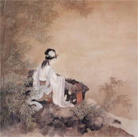 Guqin Dizi-Moon-over-Mountain-Pass-Guan-Shan-Yue